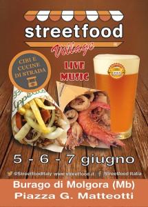streetfood village burago di molgora 2015