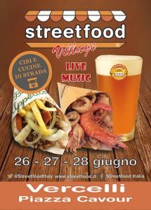 streetfood village vercelli